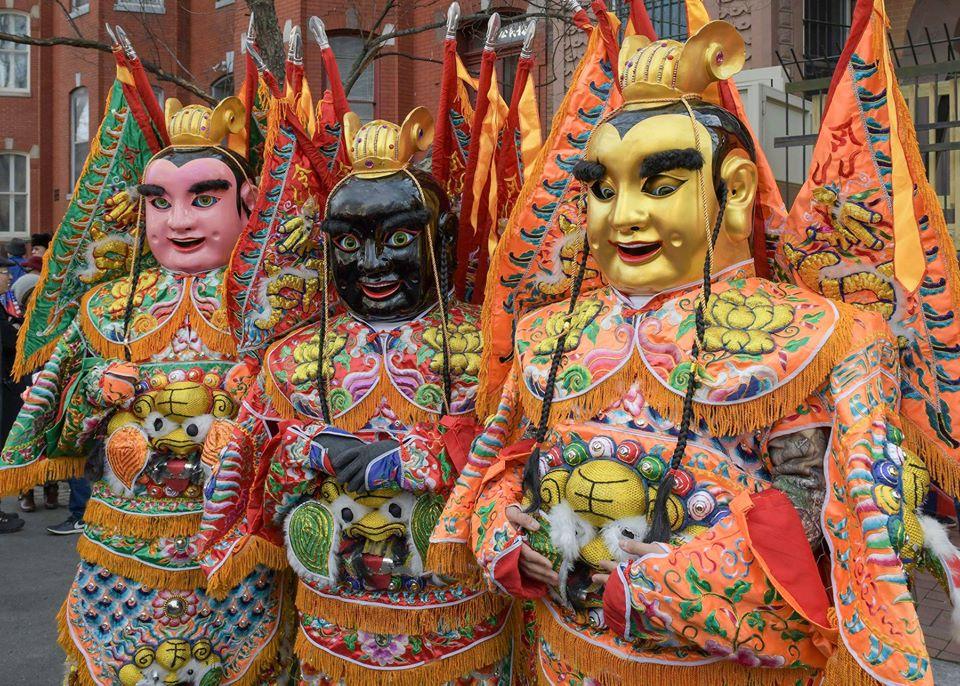 Chinese New Year, parade