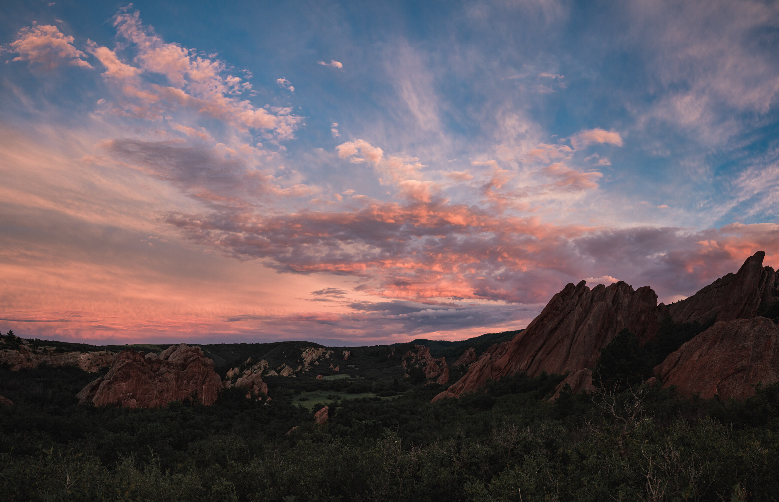 roxborough state park, senior photos