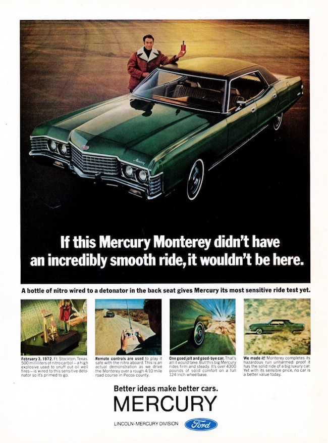 vintage ford ad