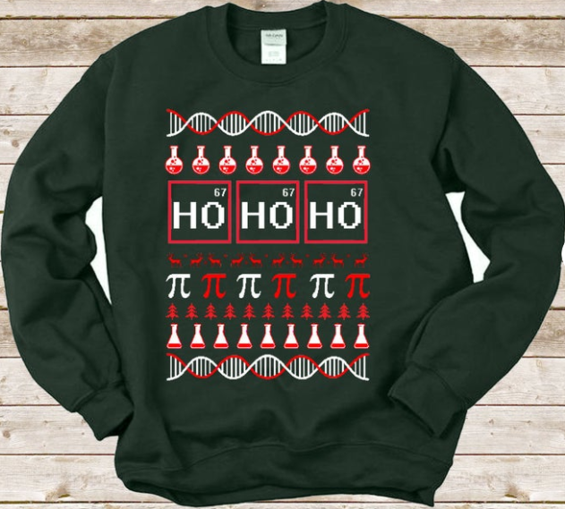 science sweater elements