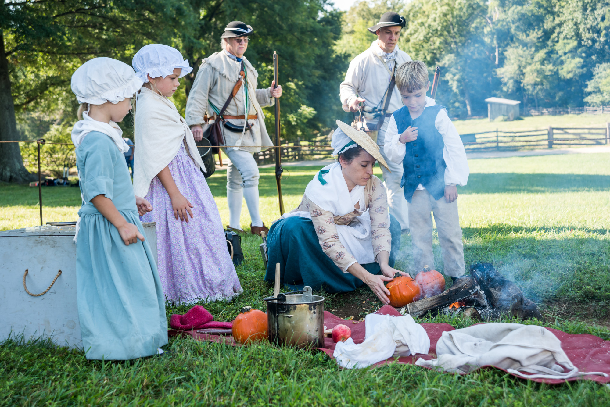 cooking, colonial
