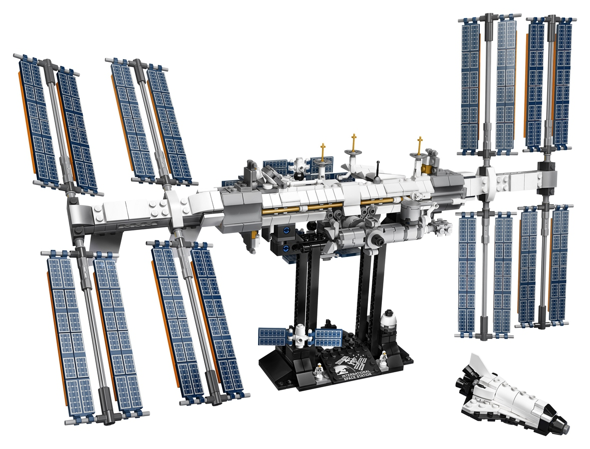 LEGO, ISS
