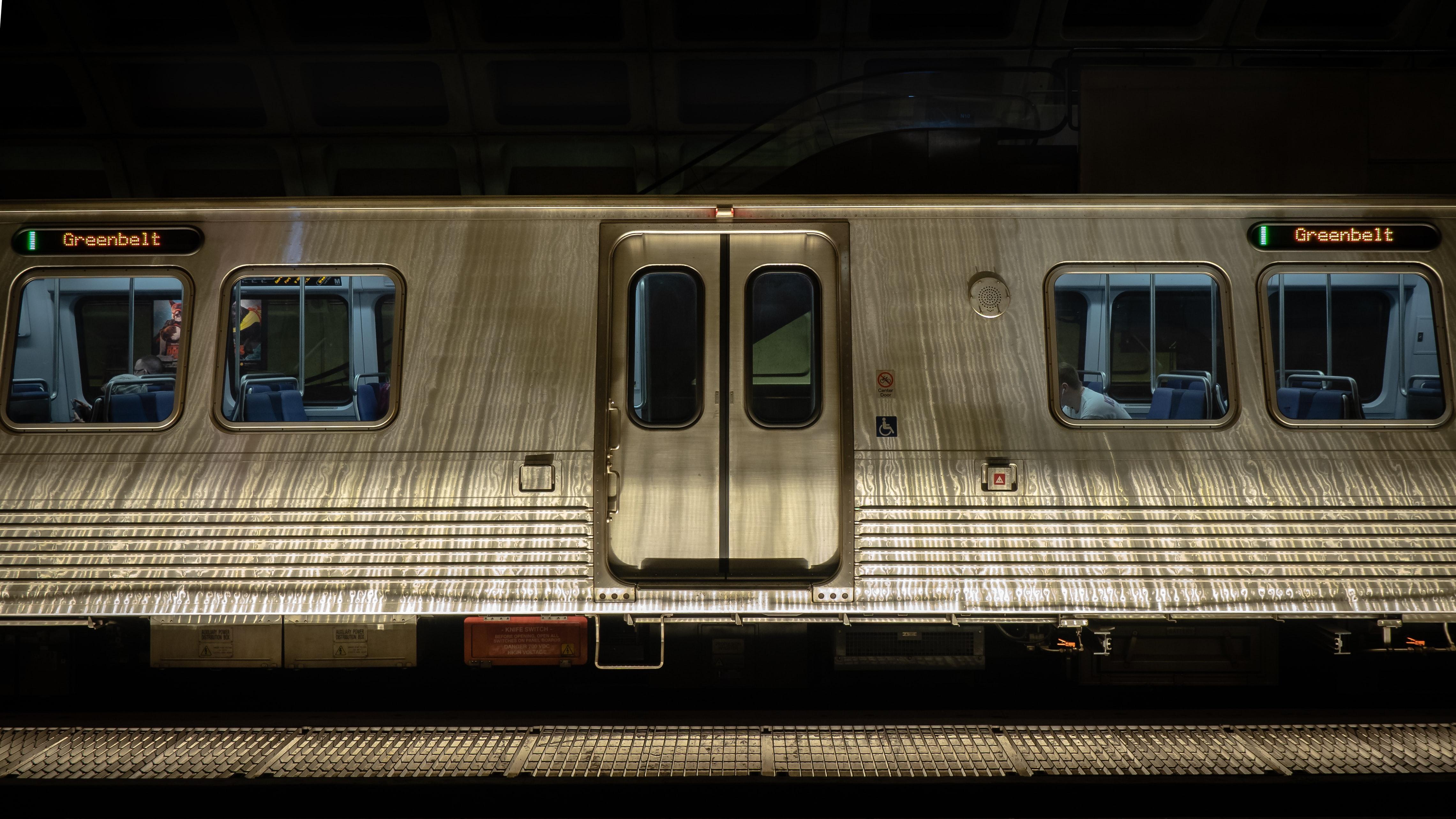 metro train car