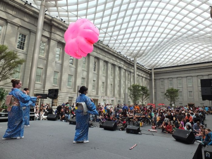 Cherry Blossom Celebration at the Smithsonian American Art Museum
