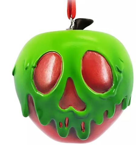 apple with green poison