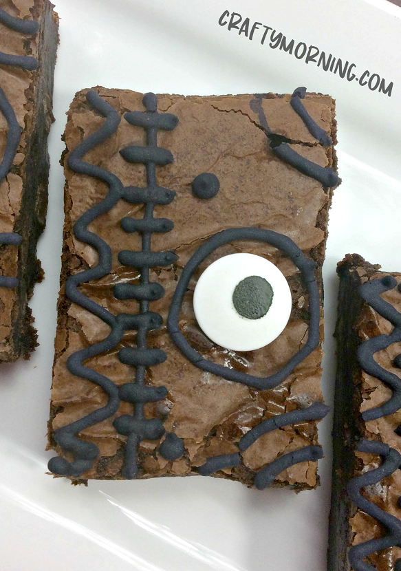 brownie with decorations