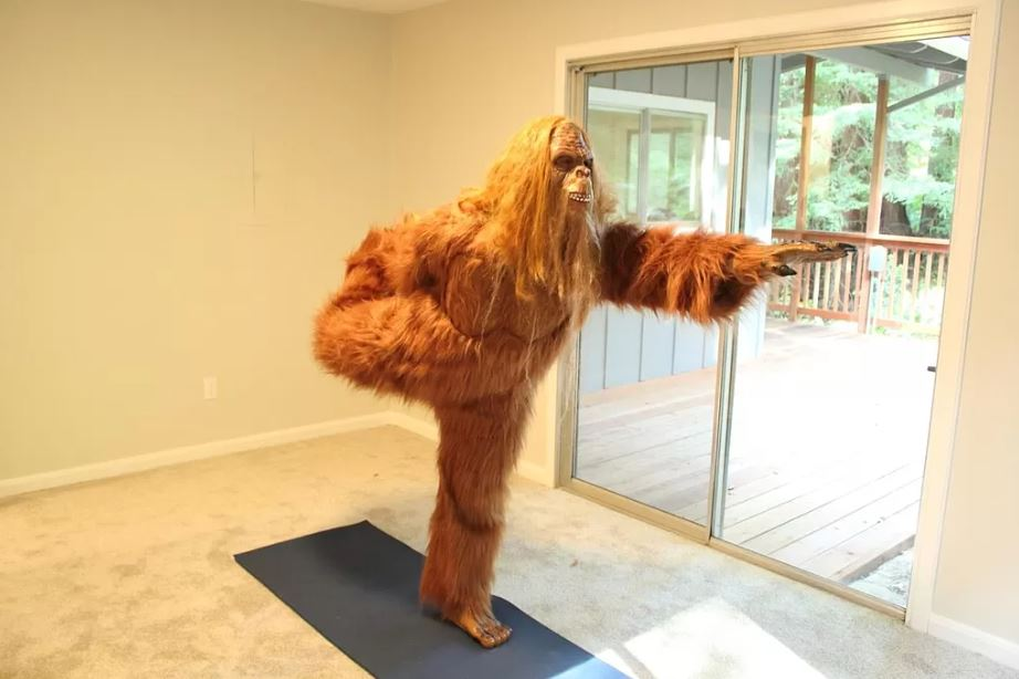 Bigfoot yoga