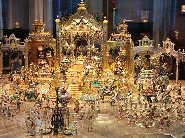 Green Vault Museum, jewelry heists