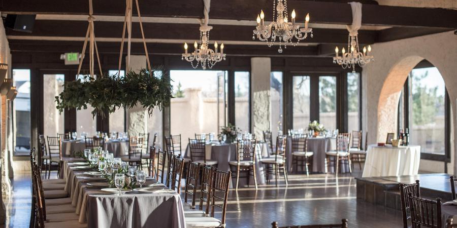villa parker wedding reception