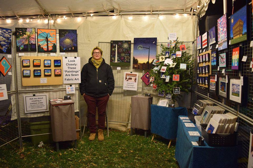 vendor, market, crafts