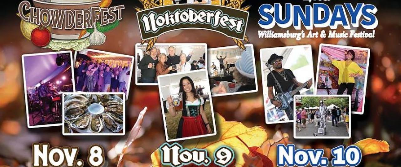 Wonderful Williamsburg Weekend Event Series Banner