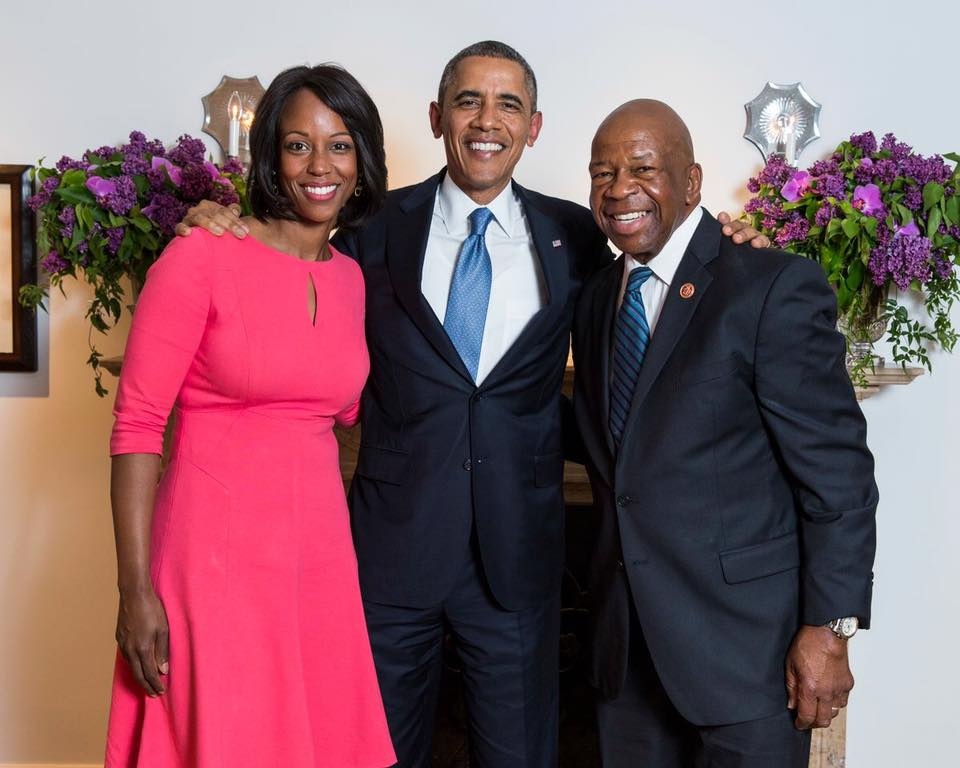 elijah cummings with President obama