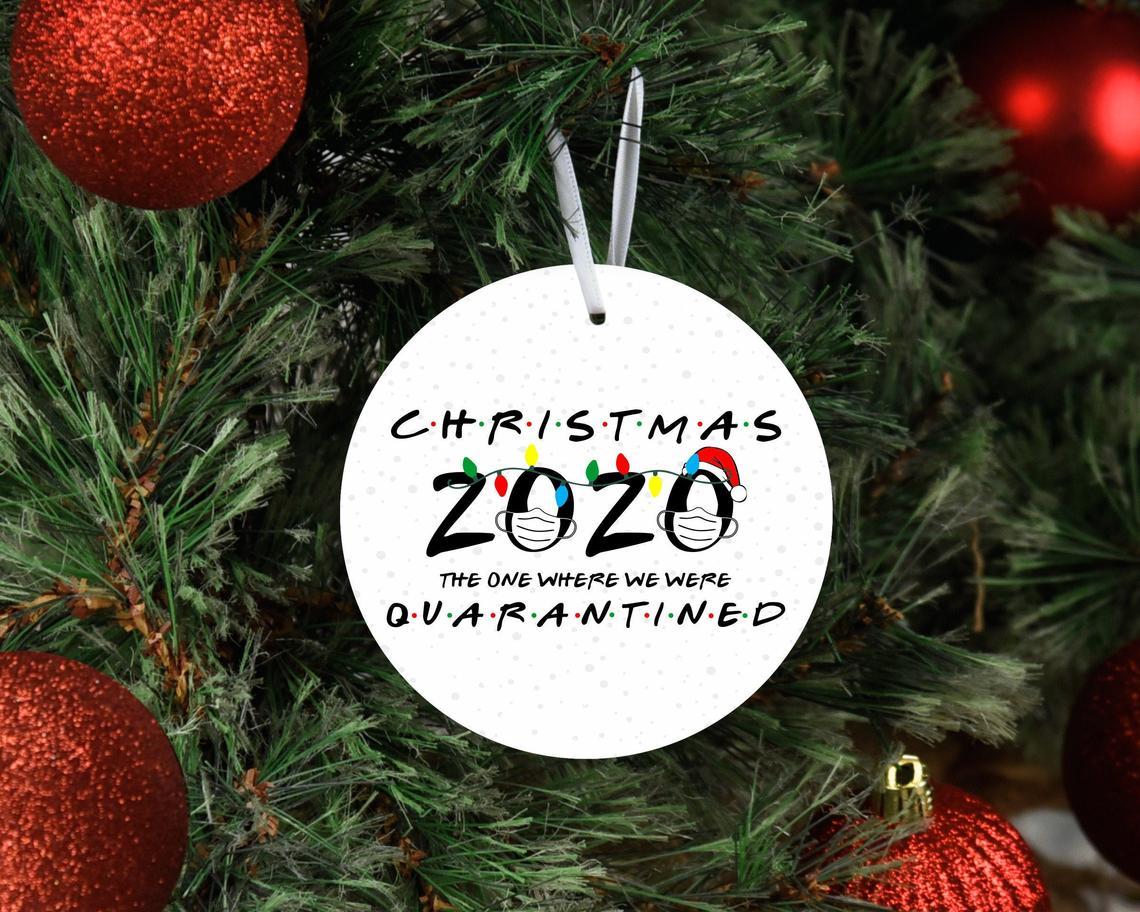 friends 2020 ornament