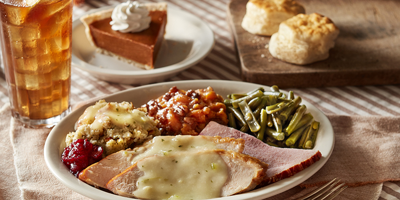 Cracker Barrel, Thanksgiving