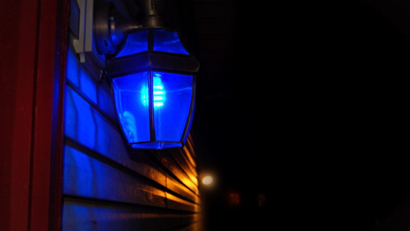 Blue Light Memorial for Victims of Virginia Beach Mass Shooting One year Later May 31
