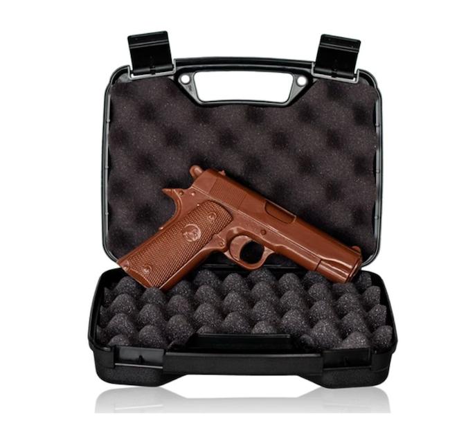 chocolate handgun