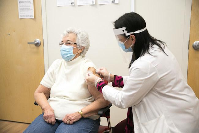 vaccination clinic at CVS Health
