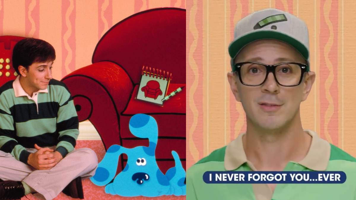 VIDEO: Steve From 'Blue's Clues' Has a Message for Grown-Up Fans, And It's  Got Us Sobbing!