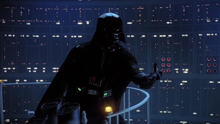 Darth Vader reaching out