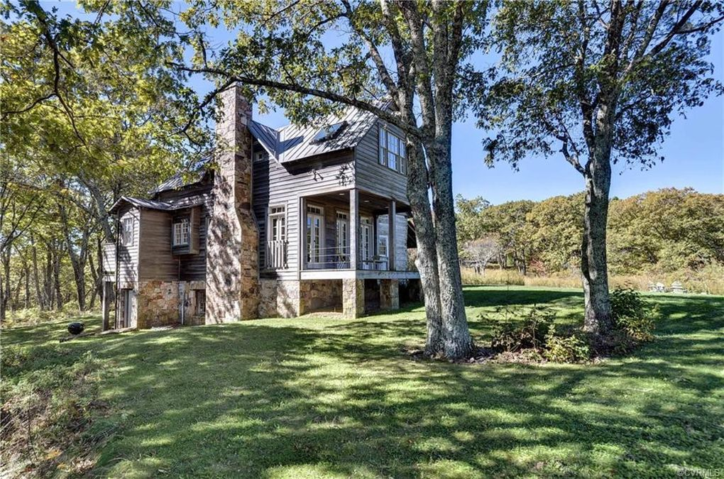 log cabin, house