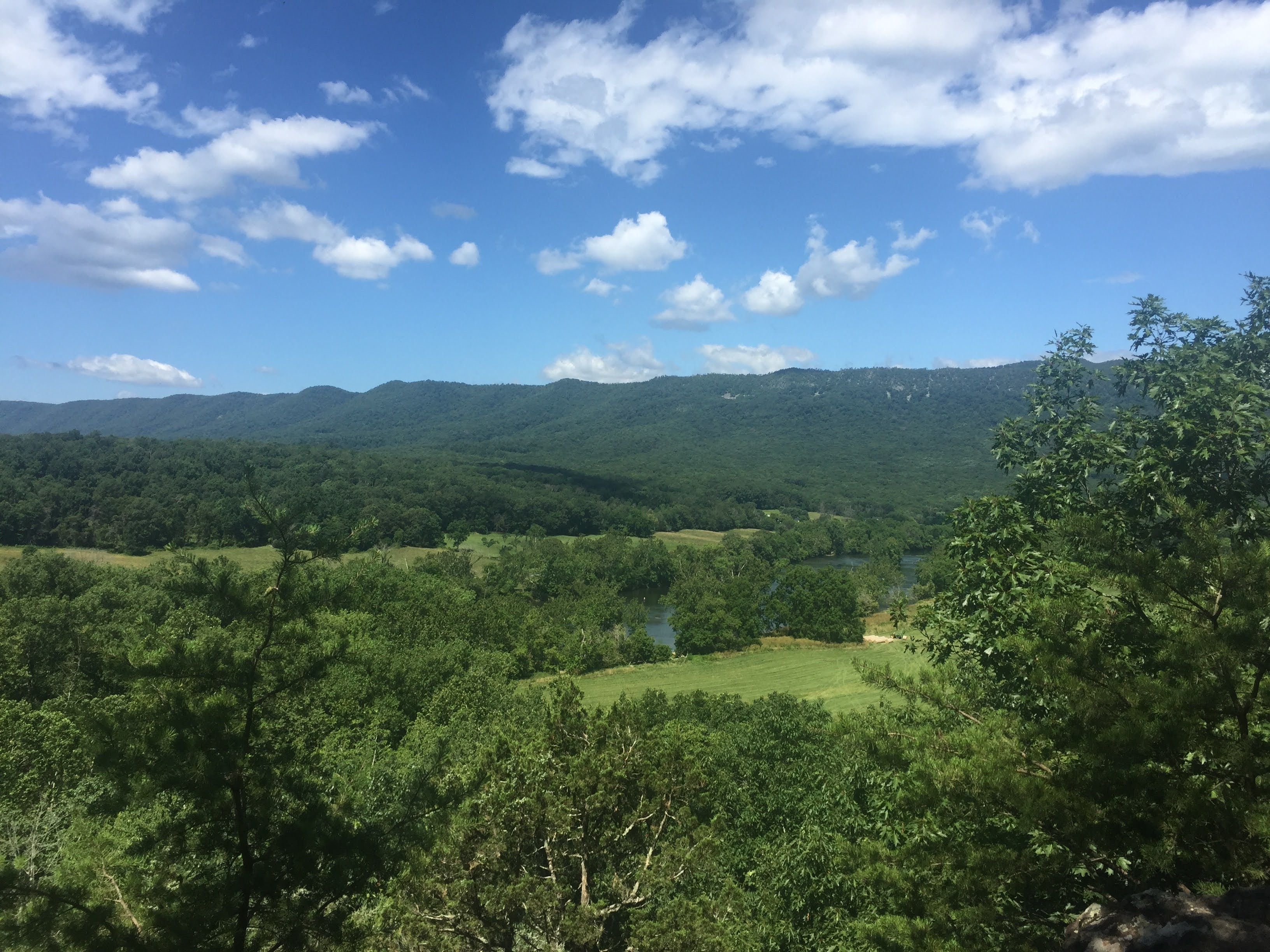 Shenandoah River State Park view from Wildcat Ledge