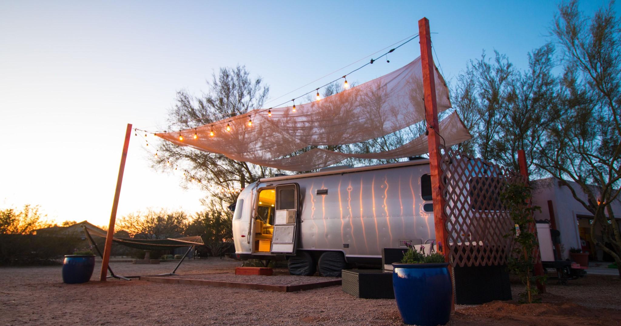 Airstream, camper