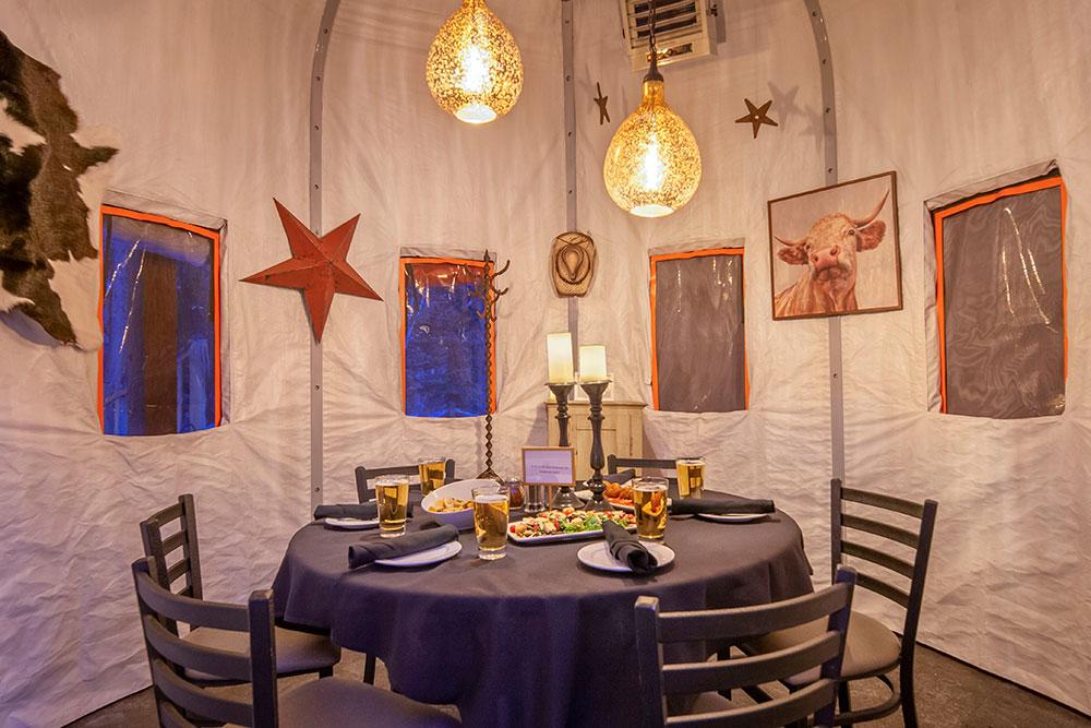 Yurt Dine In Colorado