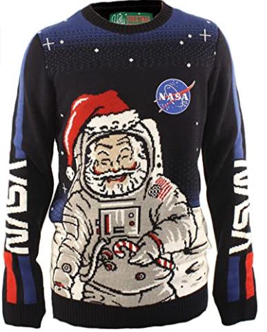 sweater nasa santa