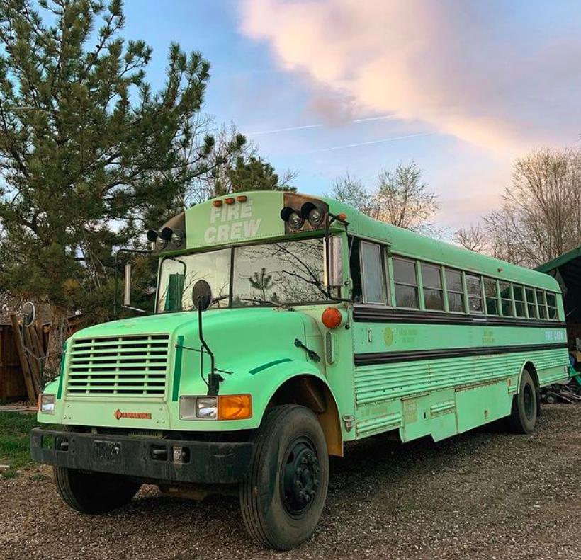 BAM Bus, van life