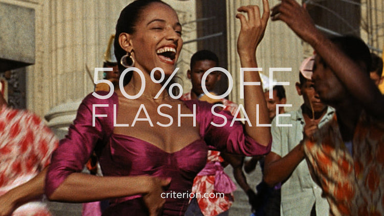 Criterion Collection, flash sale