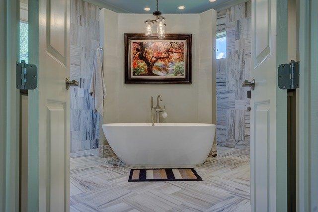 standalone tub