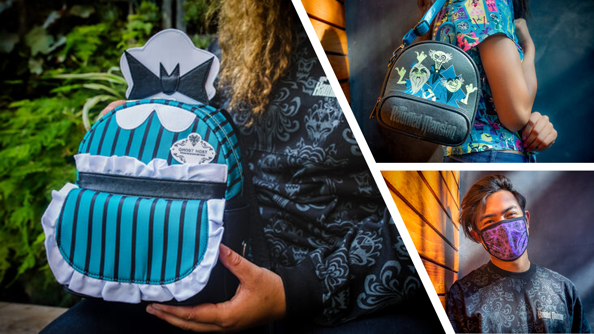 Haunted Mansion themed merchandise from Disney