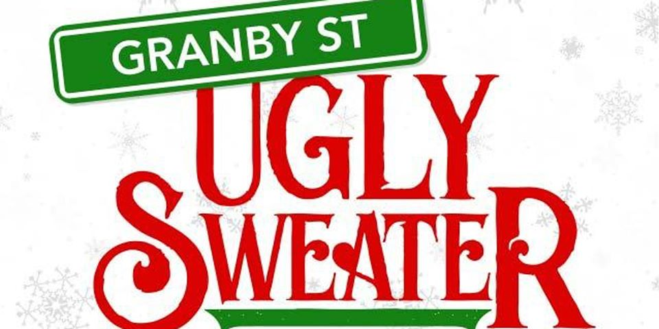 Ugly Sweater Bar Crawl banner