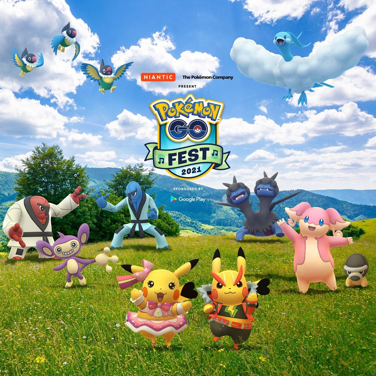 pokemon go fest