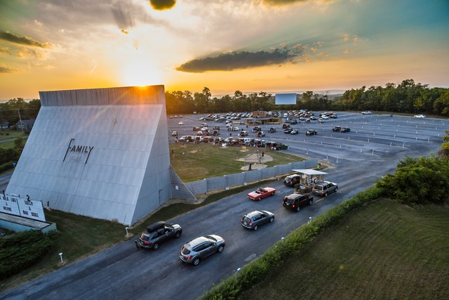Virginia Drive In Theater Re Opens On May 1