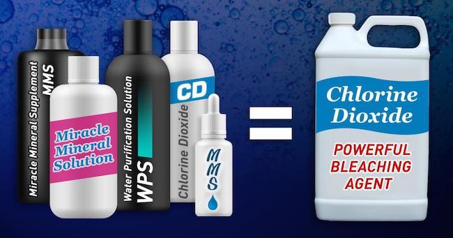 Sodium chlorite solutions