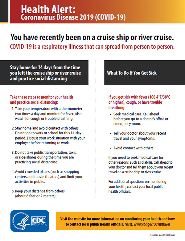 ship health alert