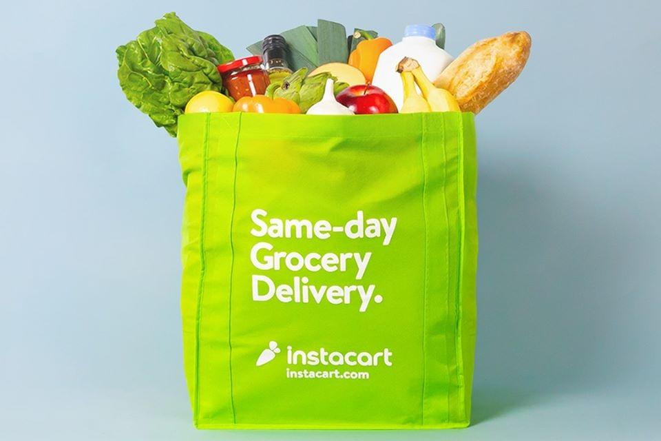groceries, Instacart