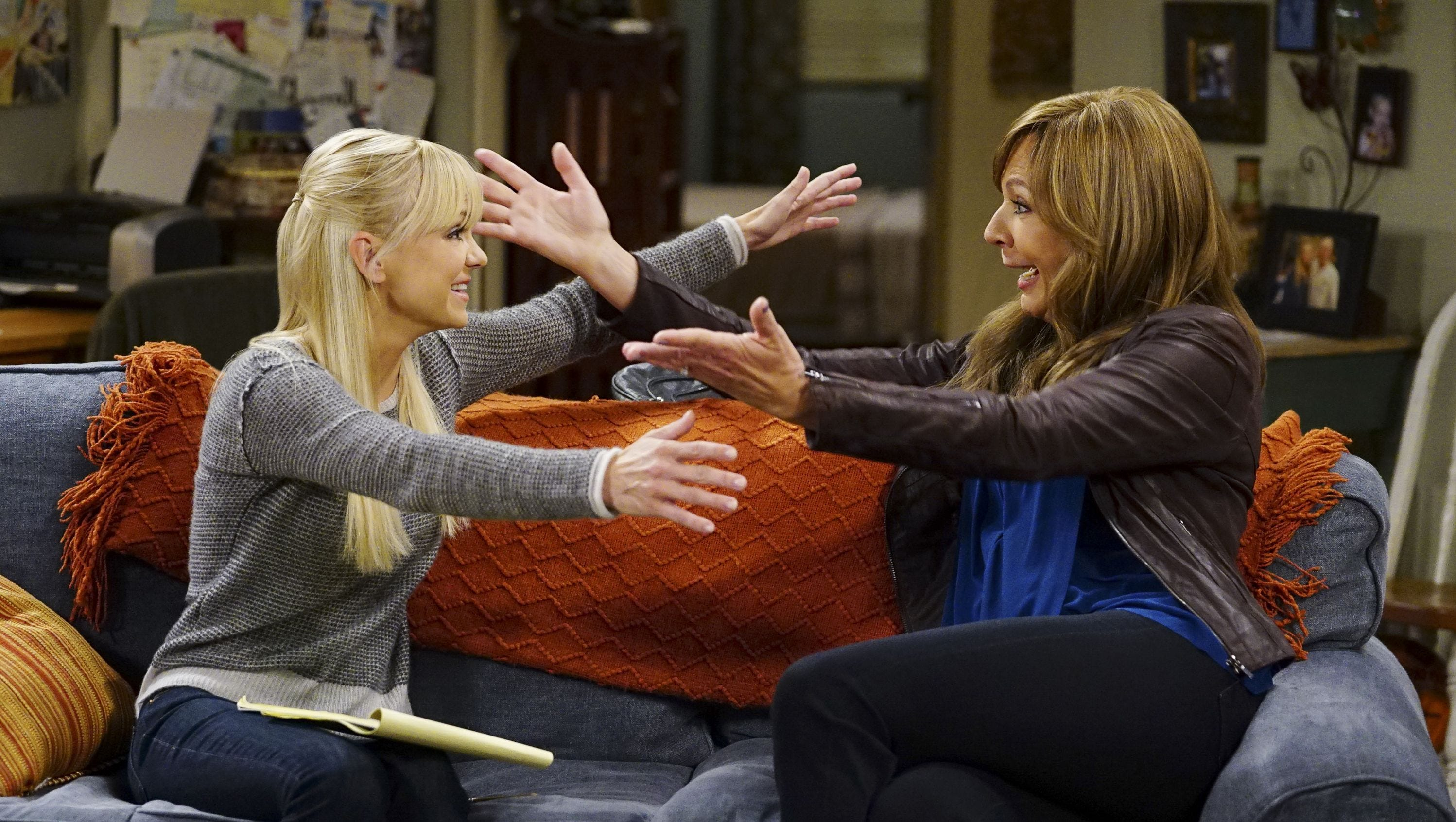 tv show cancellations and renewals, mom on cbs