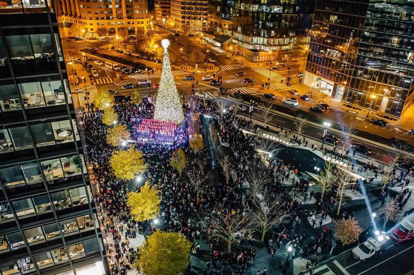CityCenterDC Christmas tree