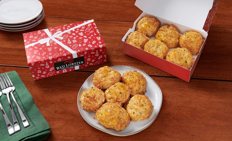 Red Lobster Releases Cheddar Bay Biscuits In Gift Boxes For The Holidays