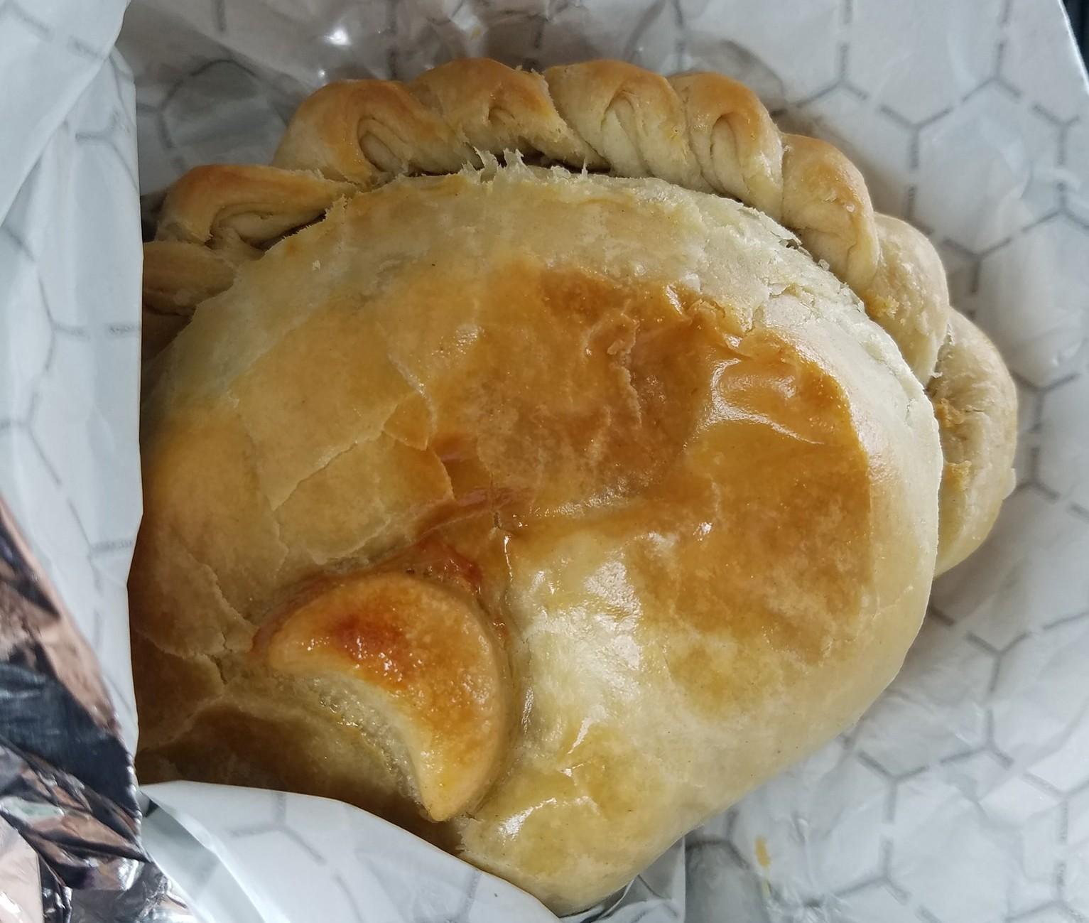 pasty, meat pie