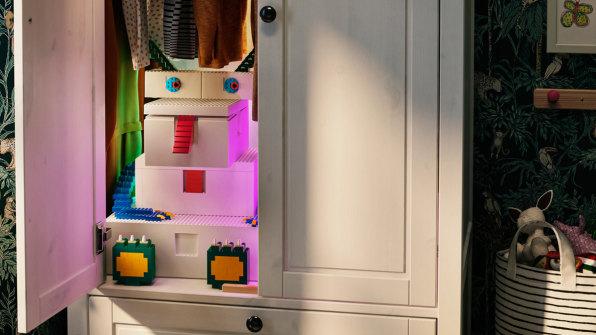 IKEA Lego bins