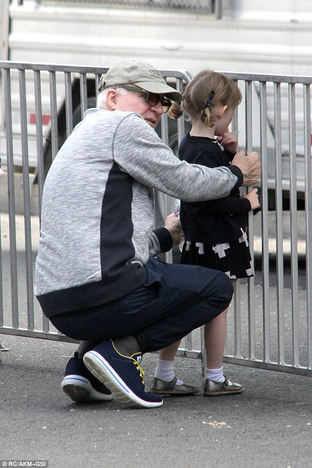 steve martin and daughter