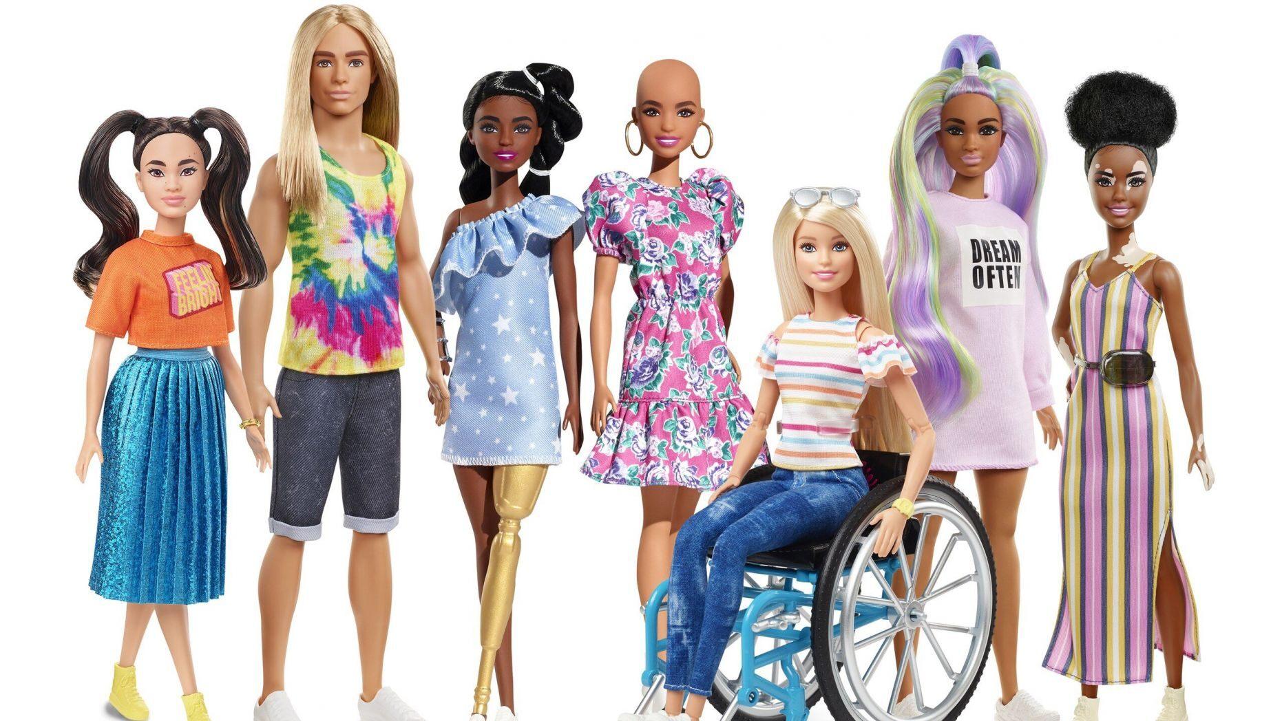 diverse Barbies