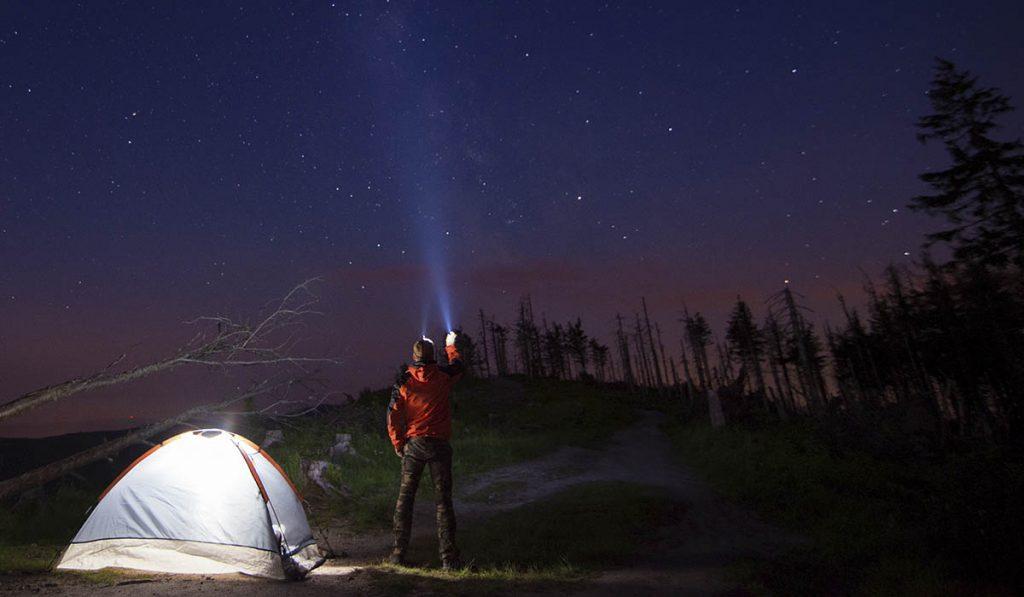 camping flashlight