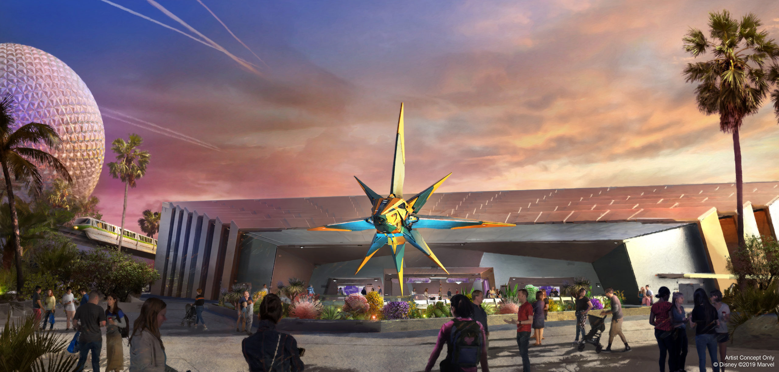 epcot, walt disney world, 2021