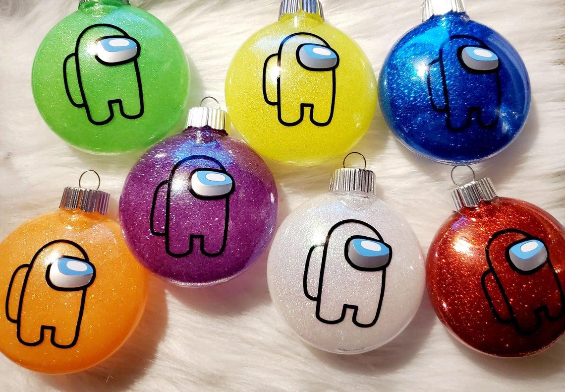 among us christmas ornament
