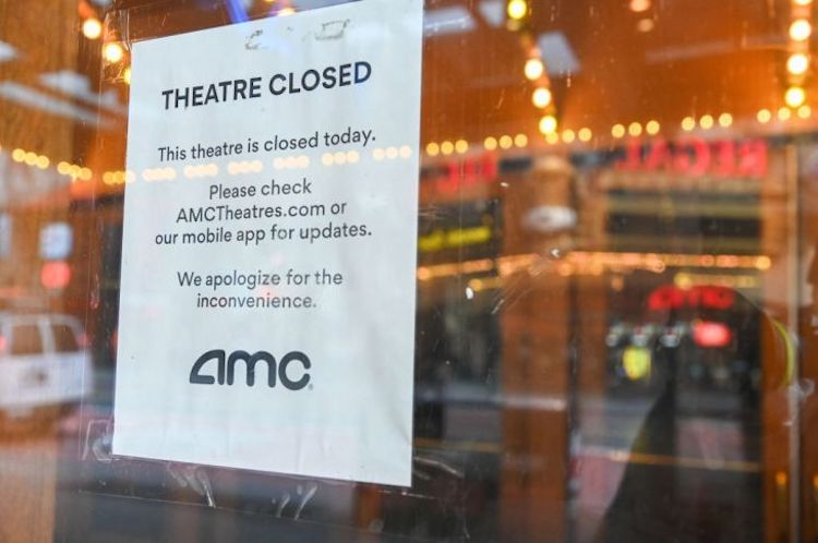 AMC theaters closed during coronavirus pandemic