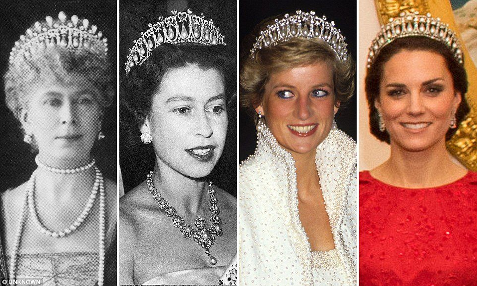 queen mary's lover's knot tiara